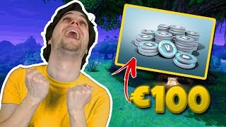 €100 AAN V-BUCKS GIVEAWAY + LEKKERE SOLO WIN! - Fortnite Battle Royale (Nederlands)