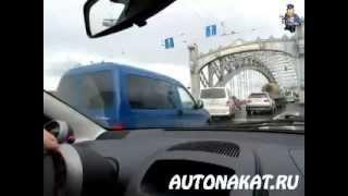 Урок вождения под дождем Часть4