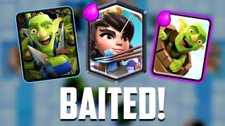 Clash Royale - BAITED! OP Bait Deck