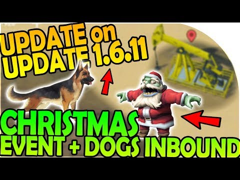 UPDATE on UPDATE 1.6.11 - CHRISTMAS EVENT UPDATE + DOGS - Last Day On Earth Survival 1.6.10 Update