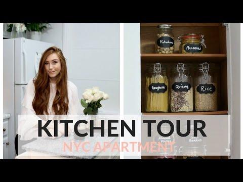 MY NYC APARTMENT TOUR - THE KITCHEN