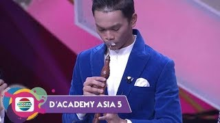 Kerenn!! Ternyata Megat Haikal (Malaysia) Multitalenta - D'Academy Asia 5