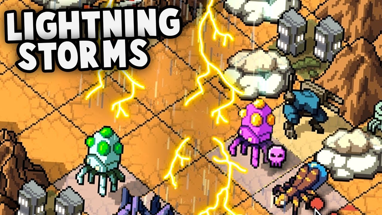 LIGHTNING STORMS and Psion Boss Battle! (Into The Breach Gameplay Part 2)