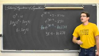 Gambar cover Solving Equations with Logarithms Pt 1