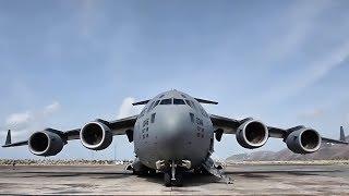 C-17 Globemasters Deliver Hurricane Relief To Virgin Islands