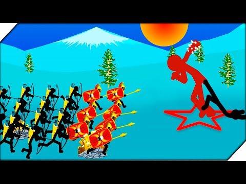 КОПЬЕТОНЫ против  ВЕЛИКАНОВ СТИКМЕНОВ - Игра Stick War Legacy Tournament Mode Игры для андроид
