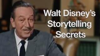 Walt Disney's Storytelling Secrets - Storytelling School