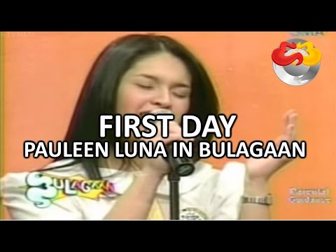 Pauleen Luna's First Day on Eat Bulaga!