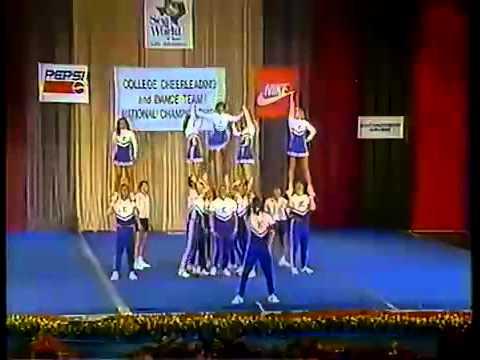 University Of Kentucky: 1992 UCA Cheerleading routine
