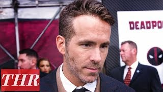 Ryan Reynolds on 'Deadpool 2' Premiere Red Carpet | THR
