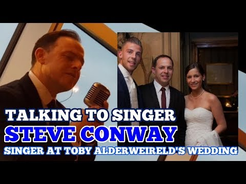 TALKING TO STEVE CONWAY: Singer at Wembley and Sang at Toby Alderweireld's Wedding! 13 January 2018