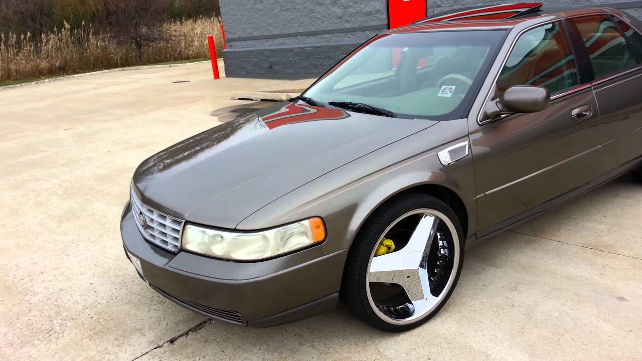 2000 Cadillac SLS on 22s - YouTube