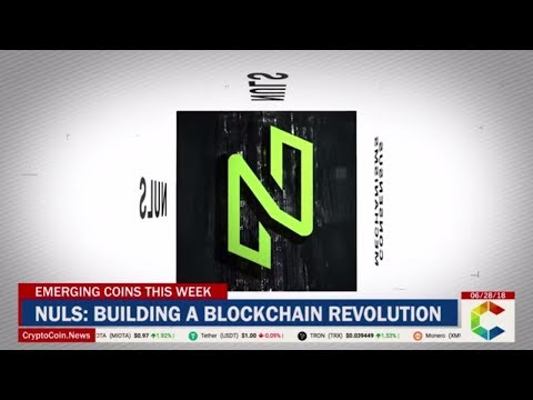 Emerging Coins This Week - Nuls: Building A Blockchain Revolution Out of Nothing