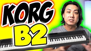 KORG B2 Piano - Can It Match the Competitors? Voices & Specifications