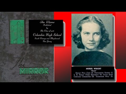 TERESA WRIGHT COLUMBIA HIGH SCHOOL 1938