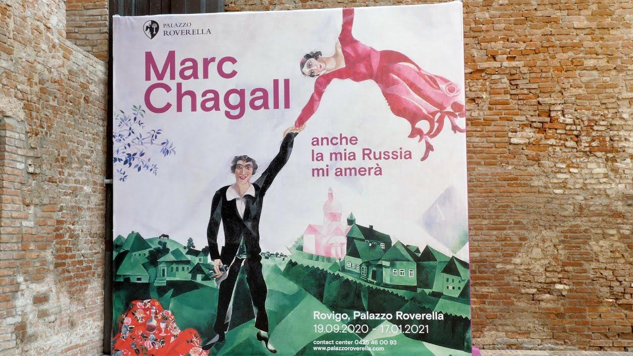 A Palazzo Roverella arriva la grande mostra di Marc Chagall - Rovigo IN Diretta