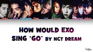 "Gambar cover How Would EXO Sing ""GO"" by NCT DREAM (Color Coded Lyrics) 