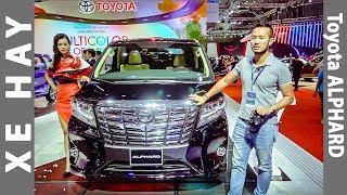 |VMS 2017| Khám phá chi tiết siêu phẩm Toyota ALPHARD giá 3,5 tỷ đồng