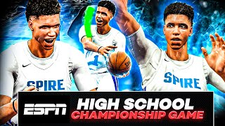 Lamelo Ball MyCareer #1 | Spire High School Championship | Incredible Triple Double Performance