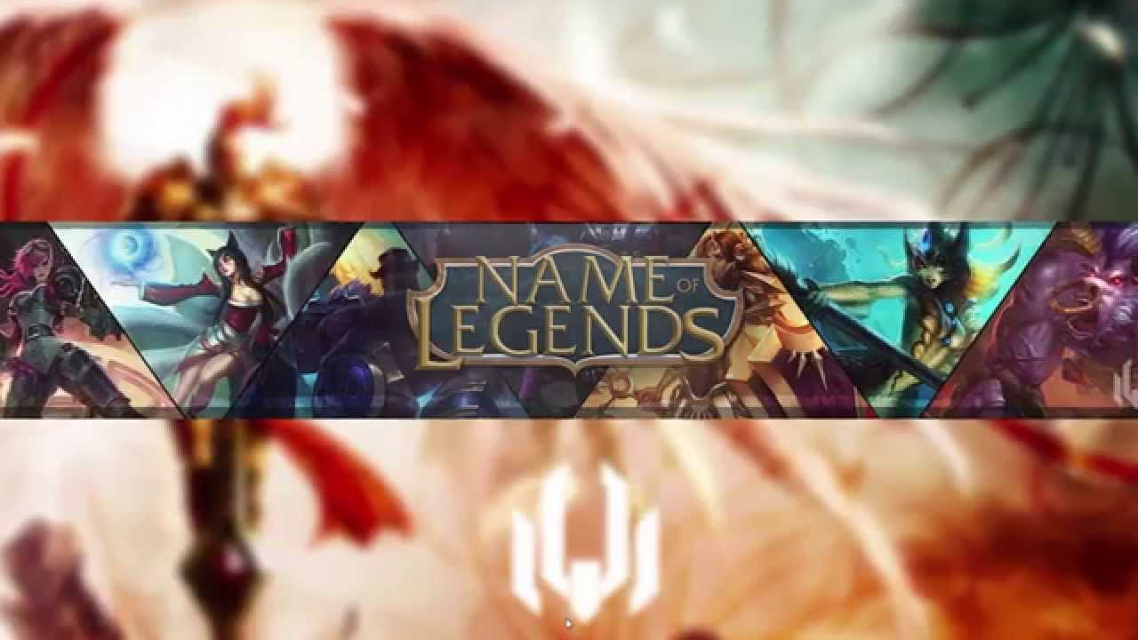 Free Youtube League Of Legends Background Template One Channel YouTube