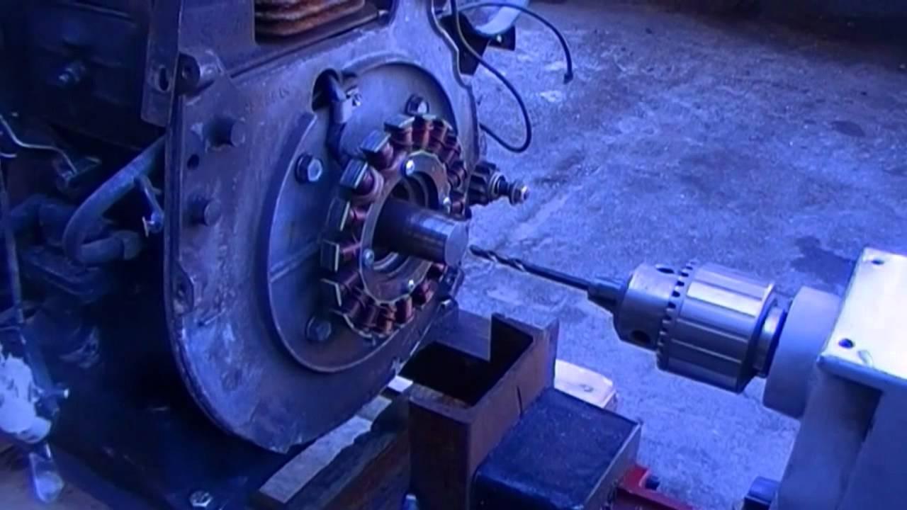 Kohler K301 Crankshaft Repair - YouTube