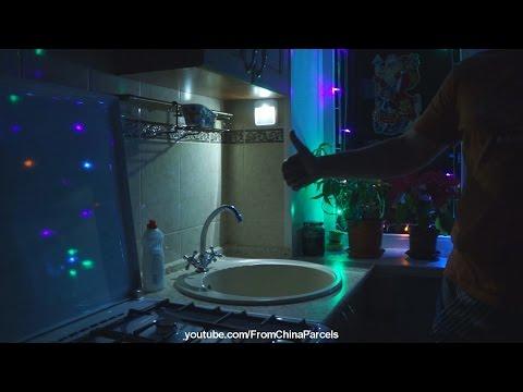 фото с датчиком движения светильник-ночник