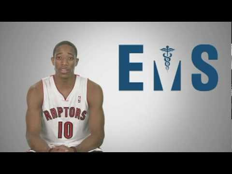 Raptors and Toronto EMS CPR awareness Partnership