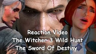 reaction video the witcher 3 wild hunt the sword of destiny trailer e3 2014