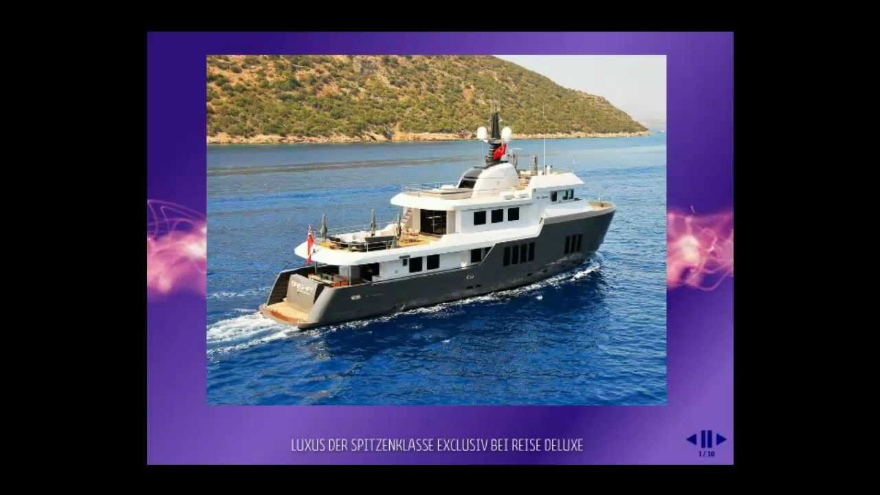 Luxus segelyacht holz  Luxus Motor Yacht Maisha incl. Crew: a Dream by Reise Deluxe - YouTube