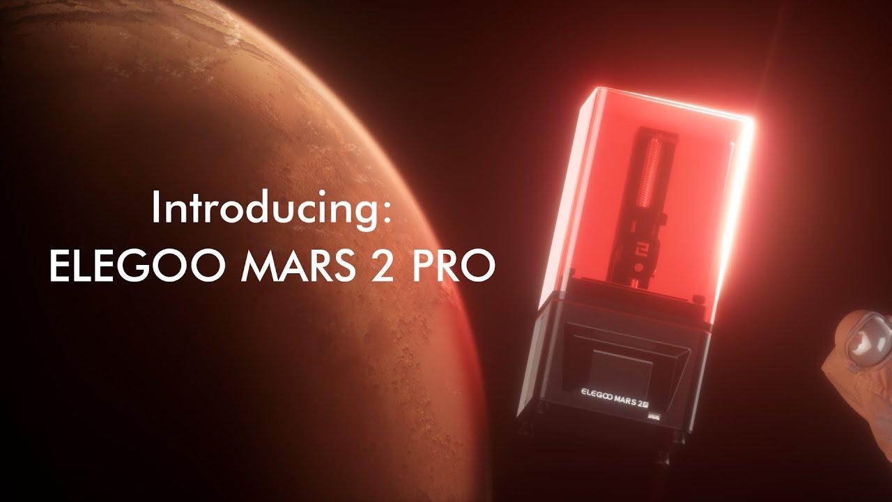 video Elegoo Mars 2 Pro