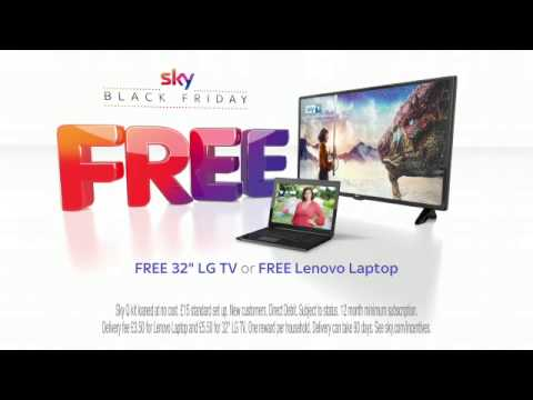 Sky Black Friday Has Arrived With A Free 32 Lg Tv Or A Free Lenovo Laptop Youtube