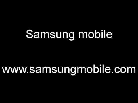 Samsung GT-E1230 Startup