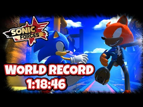SONIC FORCES - Tag Team Stage WORLD RECORD (1:18:46)
