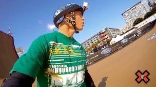 GoPro HD: X Games 17 – Skate Big Air with Adam Taylor