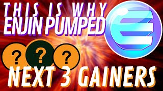 HUGE ENJIN + ICON PUMPs   Which Coins Are NEXT?