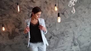 Женский брючный костюм Лавис  Обязательные покупки на сезон весна лето 2018
