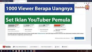 Berapa Uang Yang Kita Dapatkan Per 1000 Viewer - Motivasi YouTuber Pemula
