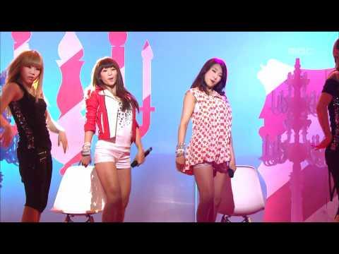 Sistar 19 - Ma Boy, 씨스타19 - 마 보이, Music Core 20110507