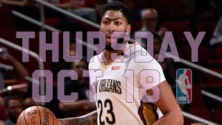 NBA Daily Show: Oct. 18 - The Starters