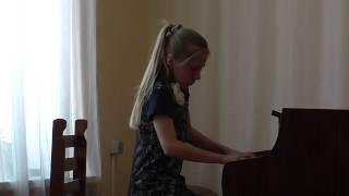 ю.Весняк Актриса исполняет Гагина Ира 5кл