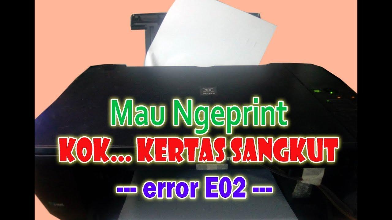 Printer Kertas Sangkut Tidak Narik Kertas Narik Kertas Miring