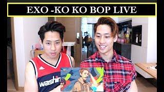 Video EXO - KO KO BOP LIVE INKIGAYO REACTION 엑소 @인기가요 (NZ TWINS REACT) download MP3, 3GP, MP4, WEBM, AVI, FLV Desember 2017