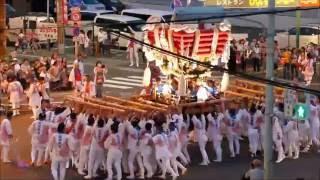 高崎神社(住之江・南加賀屋) 本宮・布団太鼓 2016.07.24