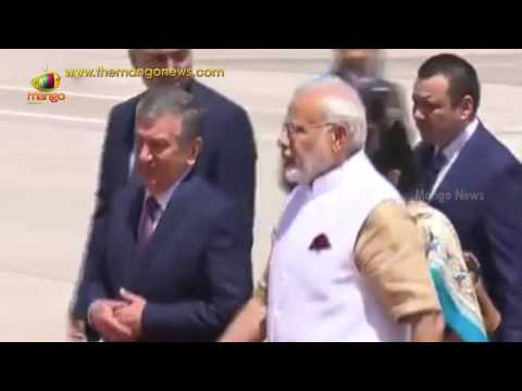 PM Narendra Modi Arrives in Uzbekistan | SCO Summit | NSG | Tashkant | Mango News