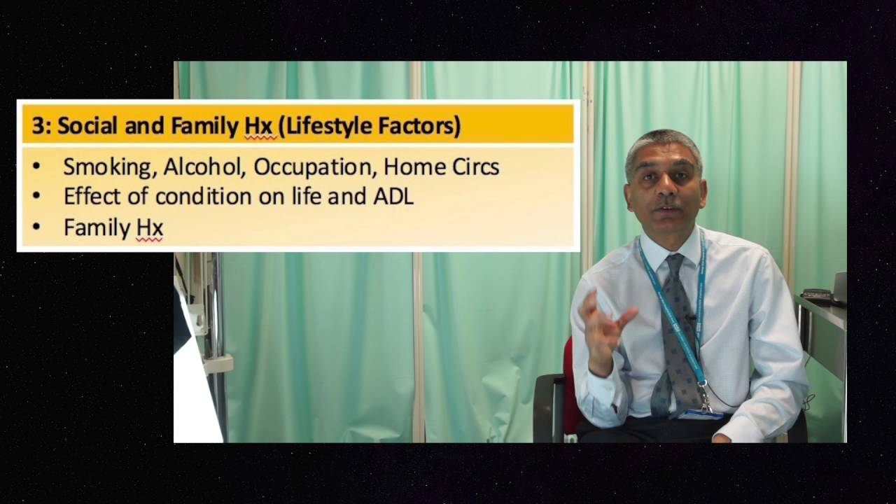 Warwick Approach to Clinical History Taking - The Four Frames - YouTube