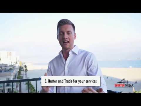 TIP #5 - Personal Branding - Barter & Trade?