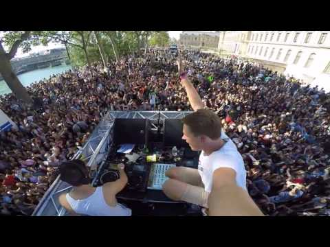 Act of Rage @ char Festimove - Techno Parade 2016