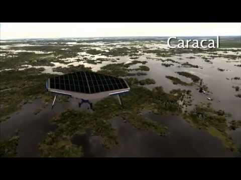 Solar Ship • Flying Trucks: Buoyant Aircraft Tested to Ferry Cargo