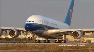 China Southern Airlines Airbus A380-841 [B-6139] Inaugural Flight to Los Angeles