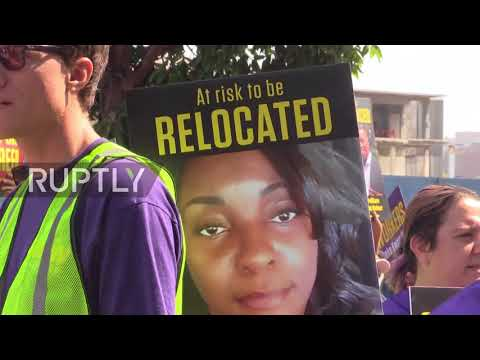 USA: Kaiser Permanente workers march against job cuts in Oakland